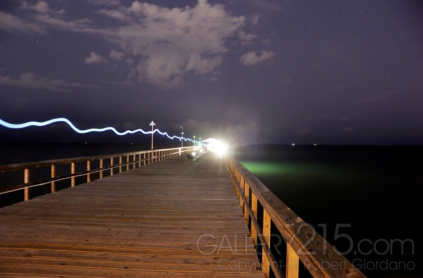 Ball Lightning at Commercial Pier